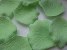 100 QUALITY THICK MINT GREEN PETALS/WEDDING/TABLE/CONFETTI/DECORATION
