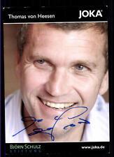 Thomas von Heesen Autogrammkarte Hamburger SV Original Signiert+A 116614