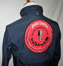 Houston Rodeo Speakers Committee Parade Announcers Group Jacket Small Dk Blue