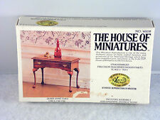House of Miniatures Doll Furniture Xacto 1:12 Queen Anne Table # 40038 Kit