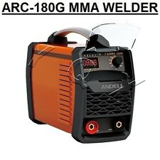 180AMP MMA(ARC) DC INVERTER WELDER WITH LED DISPLAY, COMPLETE KIT, LIGHT WEIGHT