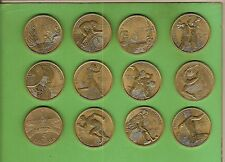 #D130. ELEVEN   DIFFERENT SYDNEY 2000 OLYMPIC $5 COINS PLUS 1988 $5 COIN