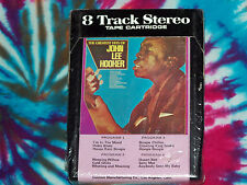 JOHN LEE HOOKER The Greatest Hits Of UNITED SUPERIOR 8-Track Tape Cartridge NEW