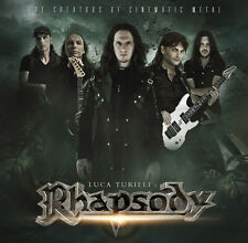 Luca Turilli's RHAPSODY Cinematic & Live 2 CD