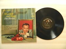 JIM REEVES - MOONLIGHT AND ROSES Vinyl LP record VG (LPS-2854) RCA VICTOR 1964