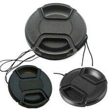 58mm Center Pinch Snap on Front Lens Cap Cover for Nikon Canon Sony camera Neu