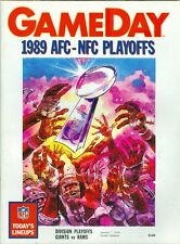 1989 Division Playoffs Program: New York Giants vs Los Angeles Rams