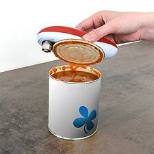 One Touch Automatic Electric Can Tin Bottle Opener Hands Free Battery Operated