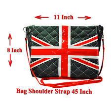 Union Jack / England Flag Vintage Design Men Women Cross Body Messenger Bag