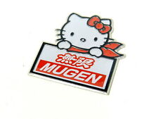 HONDA ACURA HELLO KITTY EMBLEM BADGE DECAL RARE JDM