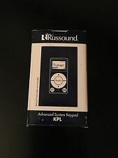 NEW Russound KPL Keypad For CAA66/ CAS44 Controller Amplifiers White/Almond