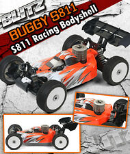 Blitz Buggy 1/8 S811 für Serpent S811 Cobra 1,0mm #60511