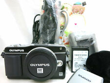 Olympus PEN mini E-PM2 compact digital camera body *black *superb *warranty