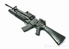 1/6 Scale M16A4 Assault Rifle US Army w/ Grenade Launcher Gun Model Figure