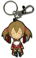 Key Chain - Sword Art Online - Chibi SD Silica Crying New Anime Toys ge36756