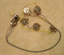 2016 Gibson USA Firebird wiring harness (complete) pots switch from a new guitar