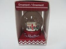 Tim Hortons 2015 Ornament Snow Globe in Original Box