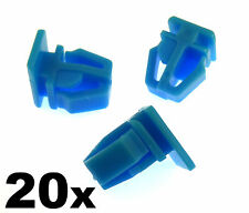 20x Honda plastica Trim Clips-per porta esterna MODANATURE, side trim & bumpstrip