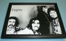 The Eagles Framed B&W Close Up Print