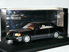 Minichamps 1993 Mercedes-Benz w124 E-CLASS Coupe Blu Nero Metallizzato 1/43