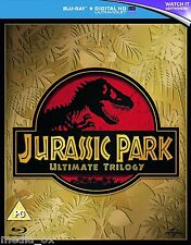Jurassic Park Ultimate Trilogy - Complete Box Set Collection | Blu-ray