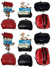 Lot of 12 Change Purse, leather coin case, Women's mini pocket Change coin case