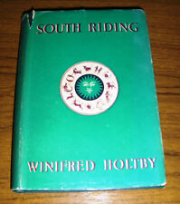 SOUTH RIDING by WINIFRED HOLTBY, VINTAGE 1949, HARDBACK WITH DUSTCOVER
