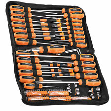 VonHaus 100 Piece Hex Torx Precision Screwdriver & Chrome Vanadium Bit Set