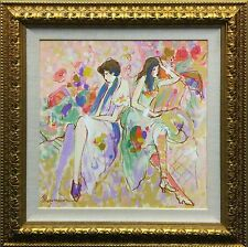 """ISAAC MAIMON """"UNTITLED""""   ORIGINAL OIL/CANVAS   24X24""""   MORE AVAILABLE GALLART"""