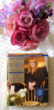 Sarah Fergie Duchess of York Dining with the Duchess hardcover book photographs
