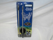 5 x Moonray 98006 Solar Powered Butterfly or Hummingbird Decorative Stake Light