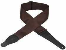 """Levy's M8P3-BRN 3"""" Poly Guitar Strap Brown"""