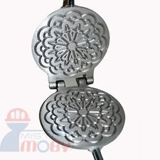 TRADITIONAL ITALIAN COOKIES MAKER MACHINE PIZZELLE WAFFLE WAFER KRUMKAKE MOD. 5