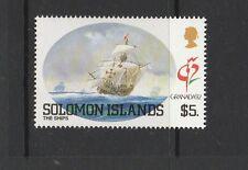Solomons  1992 Granada 92, $5 ship only UM/MNH, SG 722