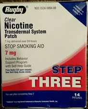 Nicoderm Type Step 3 Nicotine Patch Transdermal System ,7mg/24 hours 14 Patches