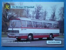 POSTCARD VAUXHALL BEDFORD VAM COACH WITH DUPLE BODY 1970