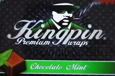 "1 Box (72 Stck) Kingpin Premium Blunts ""Chocolate Mint"" Blunt Schokolade"
