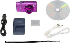 €149,99+IVA CANON IXUS 255 HS 10x Full HD Wi-Fi Digital Camera - Rosa Pink