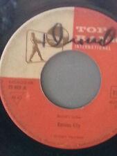 """WILBERT HARRISON 45 RPM """"Kansas City""""""""Listen My Darling"""" rare Top Rank G- cond"""