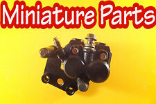 PIT BIKE FRONT TWIN POT BRAKE CALIPER & PADS 44MM FIXING HOLES WPB LMX M2R SUPER
