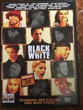 Robert Downey Jr Brooke Shields Mike Tyson BLACK & WHITE ~ 1999 ~ Rare UK DVD