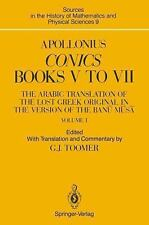 Apollonius: Conics Books V to VII : The Arabic Translation of the Lost Greek Ori
