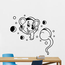 Mouse Wall Decal Tom And Jerry Vinyl Sticker Bedroom Nursery Kids Decor 55aaa