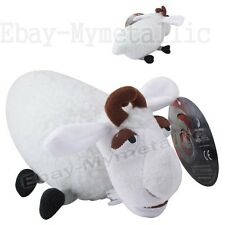 "How To Train Your Dragon Sheep 20cm / 8"" Soft Plush Stuffed Doll Toy White"