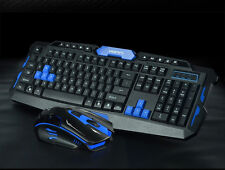 CityForm HK8100 Wireless Ergonomic Gaming Keyboard + 2.4GHz 6 Buttons Mouse Set