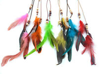 Fashion Bohemia Cock Clip In Feather Hair Extension Lot Six Colors In