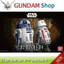 BANDAI Star Wars 1/12 R2-D2 & R5-D4 Astromech Droids No. 195963 JAPAN