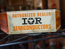 Vintage? Rare IOR Authorized Dealer Entertainment Semiconductors Store Display
