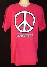 Peace Symbol Catholic Christian T Shirt Large Jesus Peacemakers LENT EASTER