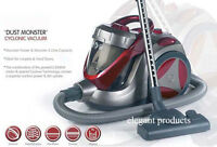 NEW EFFICIENCY 1400W ERP MOTOR 5L BAGLESS CYCLONIC HOOVER/VACUUM CLEANER RED a